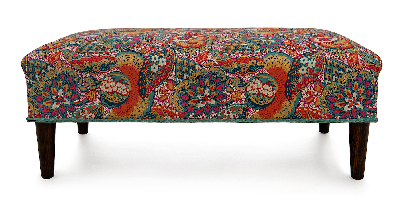 The Bespoke Footstool Co Liberty Print3
